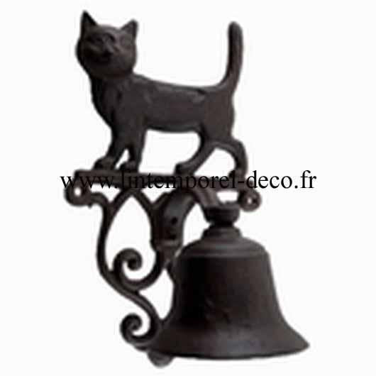 Cloche de porte chat de gouttière