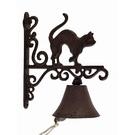 Cloche d'entrée chat fonte