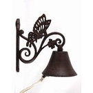 Cloche d'entrée en fonte papillon